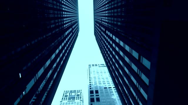 Modern skyscrapers video