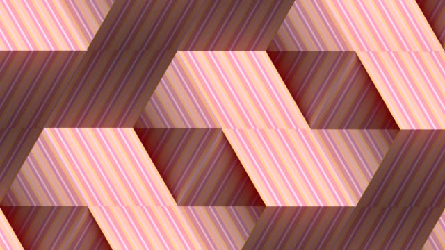 Modern striped graphic background. Abstract fashion digital seamless loop pattern. 3d rendering. HD resolution