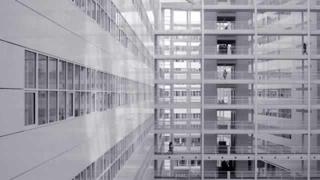 stockvideo's en b-roll-footage met modern white architecture - den haag