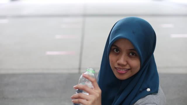 Modern Young Muslim Woman