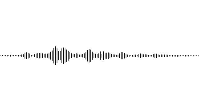 modulation audio b&n - attrezzatura per la musica video stock e b–roll