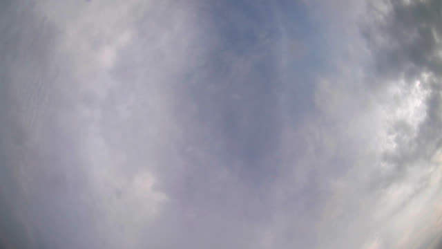 Moiving Clouds - Time Lapse video