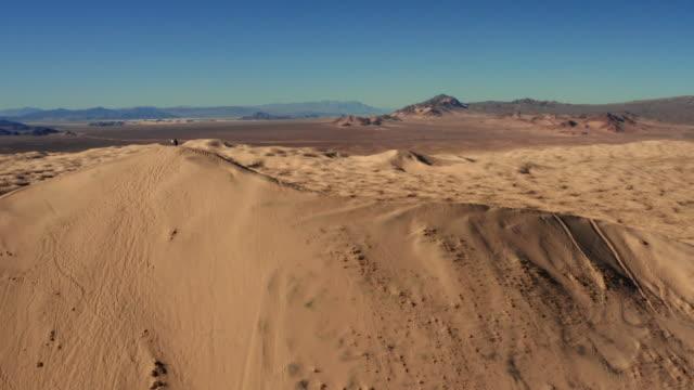 Mojave Desert in California aerial view