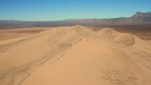 Mojave Desert in California aerial view