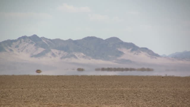 Mojave Desert mirage video