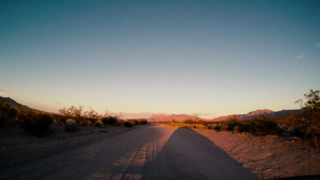 Mojave Desert, national preserve - Road trip in the United States video