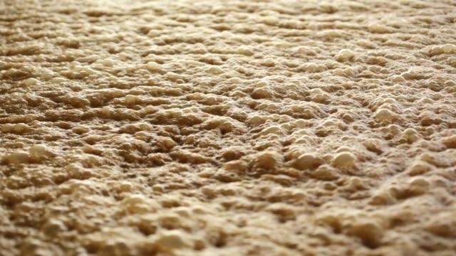 molasses fermentation - canna da zucchero video stock e b–roll