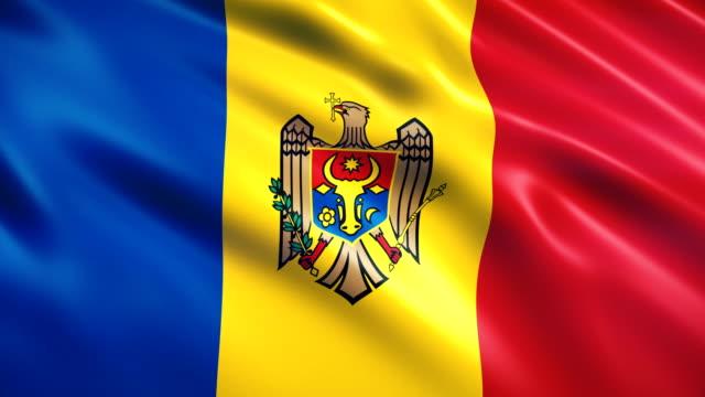 флаг молдовы - молдавия стоковые видео и кадры b-roll