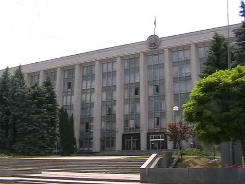 moldovian parlament - polityka i rząd filmów i materiałów b-roll