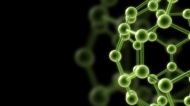 Molecular structure HD video