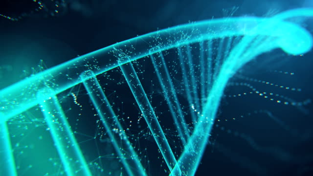 DNA Molecule 4K video