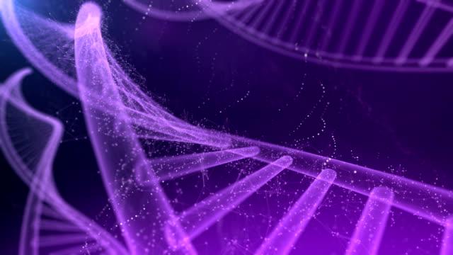 DNA Molecule 4K video