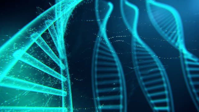 DNA Molecule Loopable 4K video