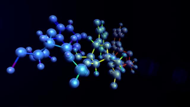 Molecules of DNA RNA organism video