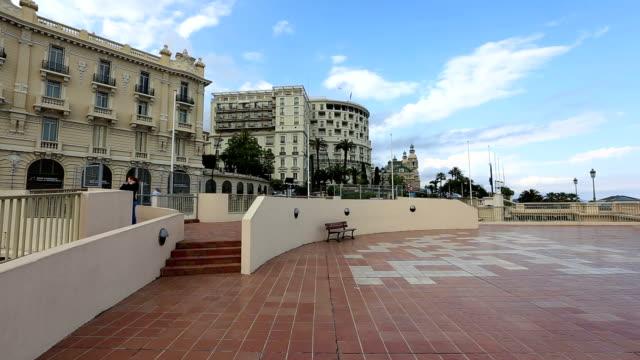 Monaco city video video