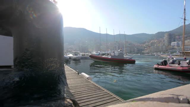 Monaco harbor video