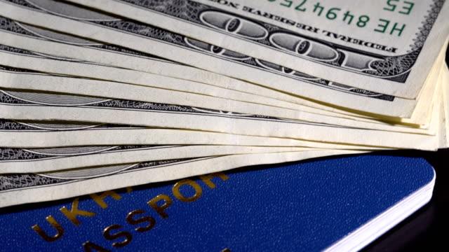 Geld und Pass auf den Tisch – Video