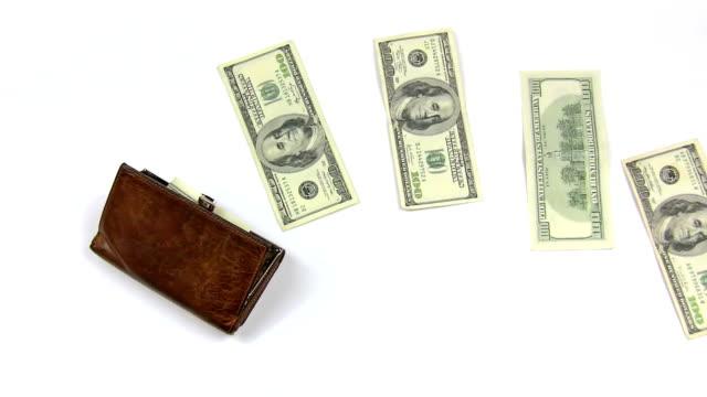 money concept - 銀包 個影片檔及 b 捲影像