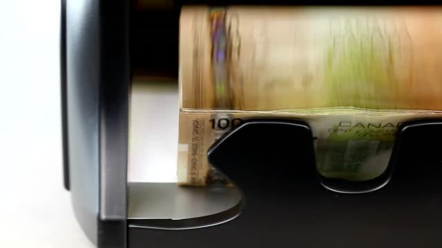 Money counter video