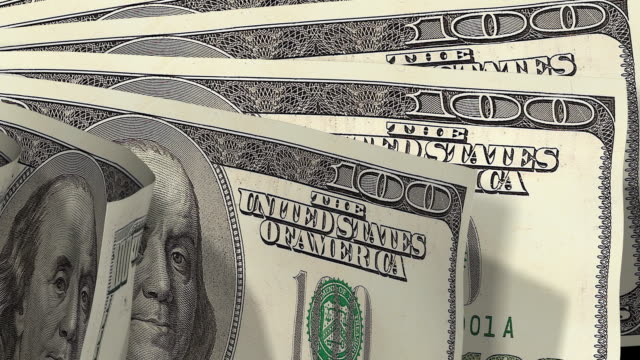 Money flipping hundreds video