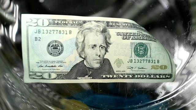 money laundry concept - dirty money bildbanksvideor och videomaterial från bakom kulisserna