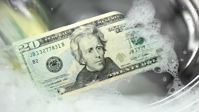 money laundry - dirty money bildbanksvideor och videomaterial från bakom kulisserna