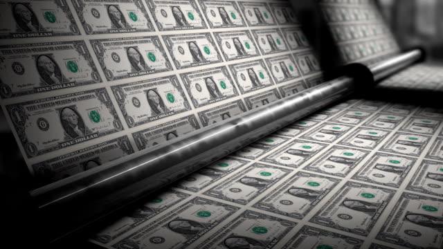 money press - dept bildbanksvideor och videomaterial från bakom kulisserna