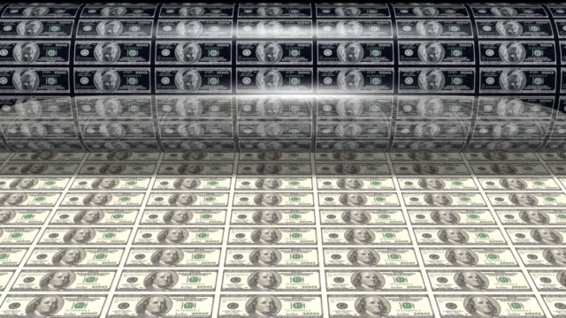 Money printing hundreds video