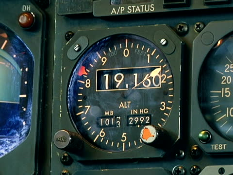 Monitor in the cockpit