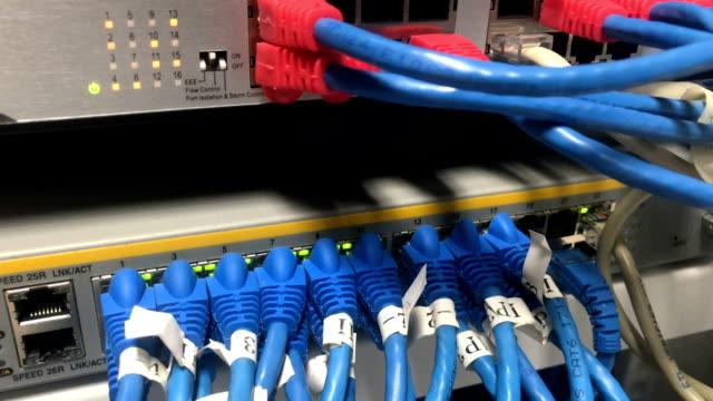 vídeos y material grabado en eventos de stock de monitor - cable