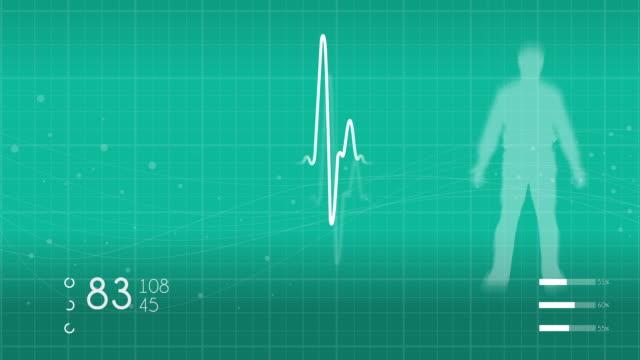 vídeos de stock e filmes b-roll de monitoring vital signs - ataque cardíaco