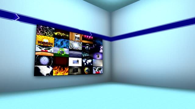 Monitors in Room video