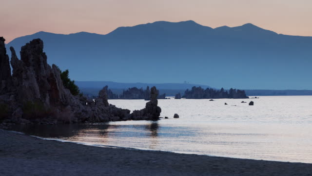 Mono Lake at Twilight video
