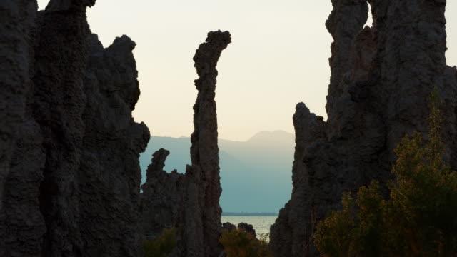 Mono Lake Seen Through Tufa Pillars video