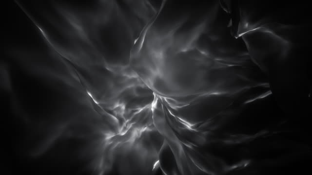 Monochromatic Ethereal Glowing Abstract Flame Loop video