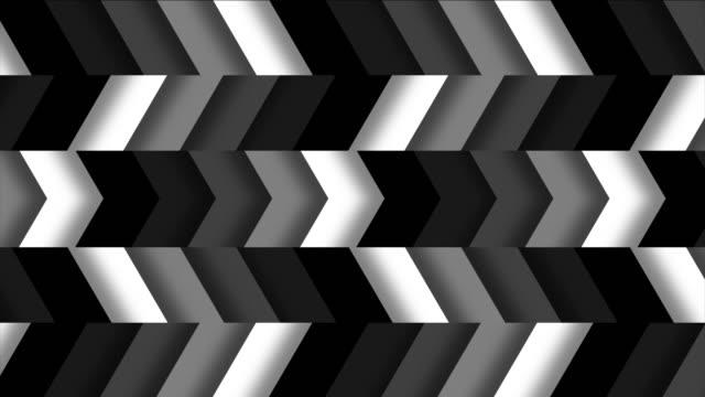 Monochromatic Horizontal Chevron Tile Pattern Loop video
