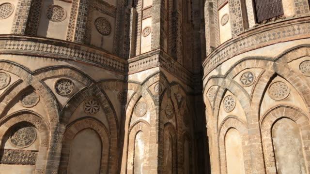 モンレアーレ教会でシチリア - モンレアーレ点の映像素材/bロール