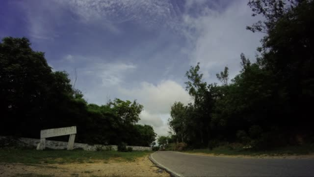 Monsoon clouds time lapse