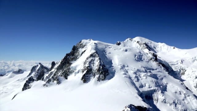 Mont Blanc Summit, Chamonix, France video