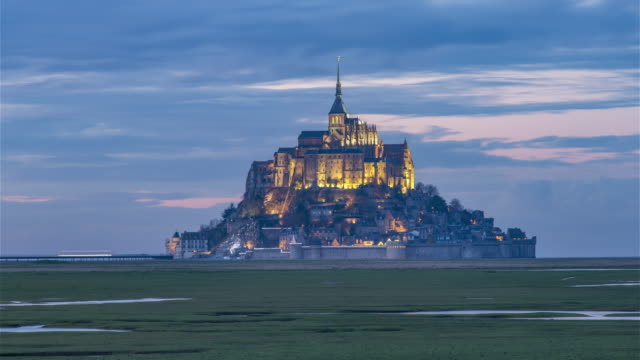 Mont Saint-Michel, France - Timelapse  - The Mont Day to Night video