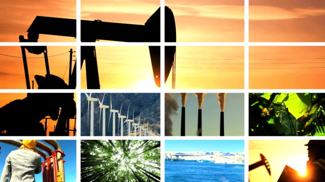 Montage  Contrasting the Effects of Natural & Fossil Fuel Production video
