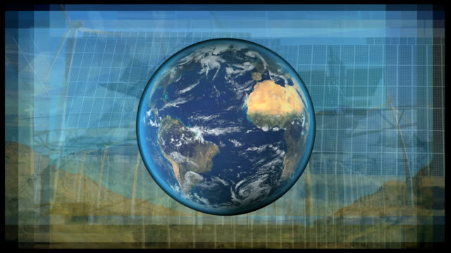 Montage Earths Renewable Energy Sources