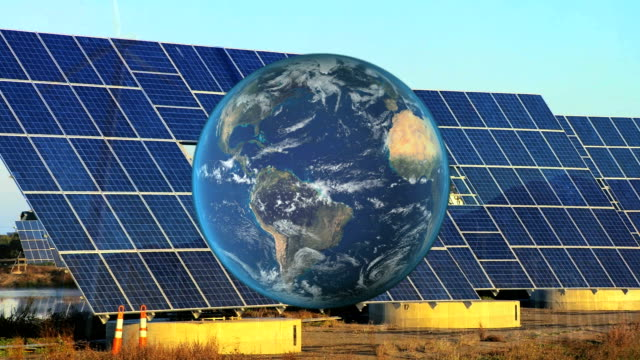 Montage Global View of Sustainable Energy