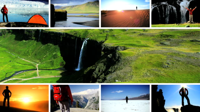 Montage Images Achievements at Natures Destinations video