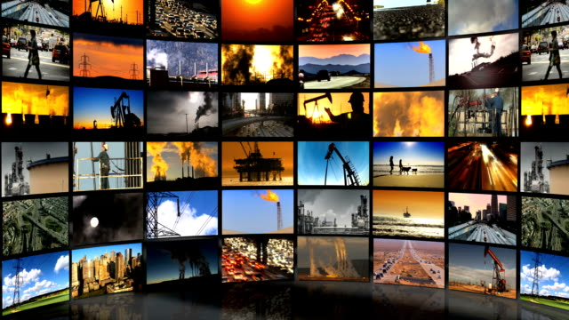Montage Images Environmental Pollution, USA video