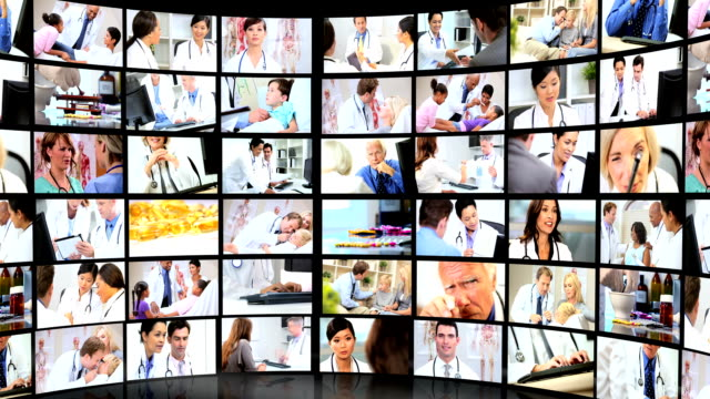 Montage Images Medical and Pharmaceutical Treatments video