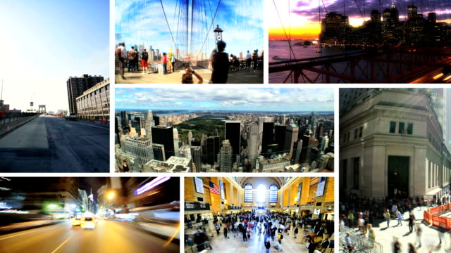 Montage Images, New York, USA video