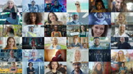 istock Montage of Happy Multi-Cultural and Multi-Ethnic People of Diverse Background, Gender, Ethnicity, and Occupation Smiling at Posing Looking at Camera. Happy Workers of the World Cheerfully Smiling. 1278760998