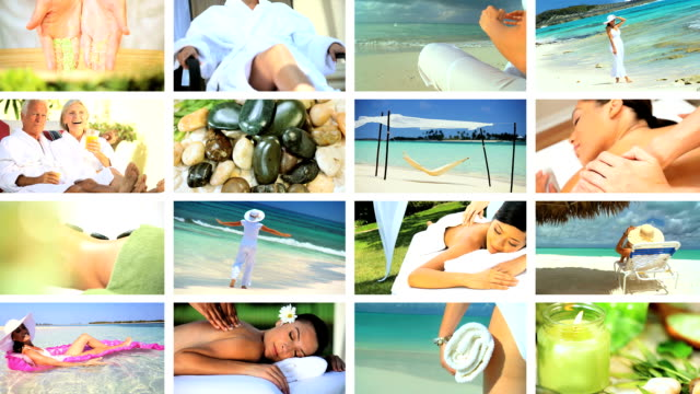 Montage of Relaxation & Spa Treatment video