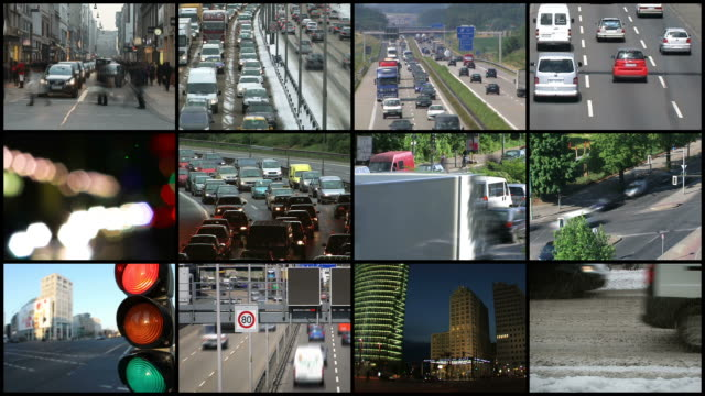 Montage - Traffic video